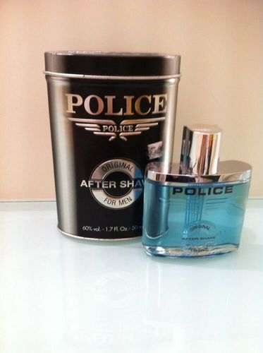 Police after shave 50 ml metallo
